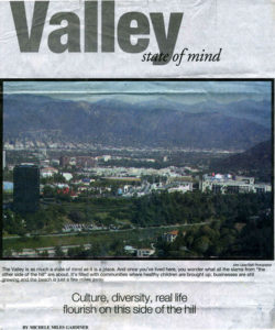 San Fernando Valley, essay, Michele Miles Gardiner